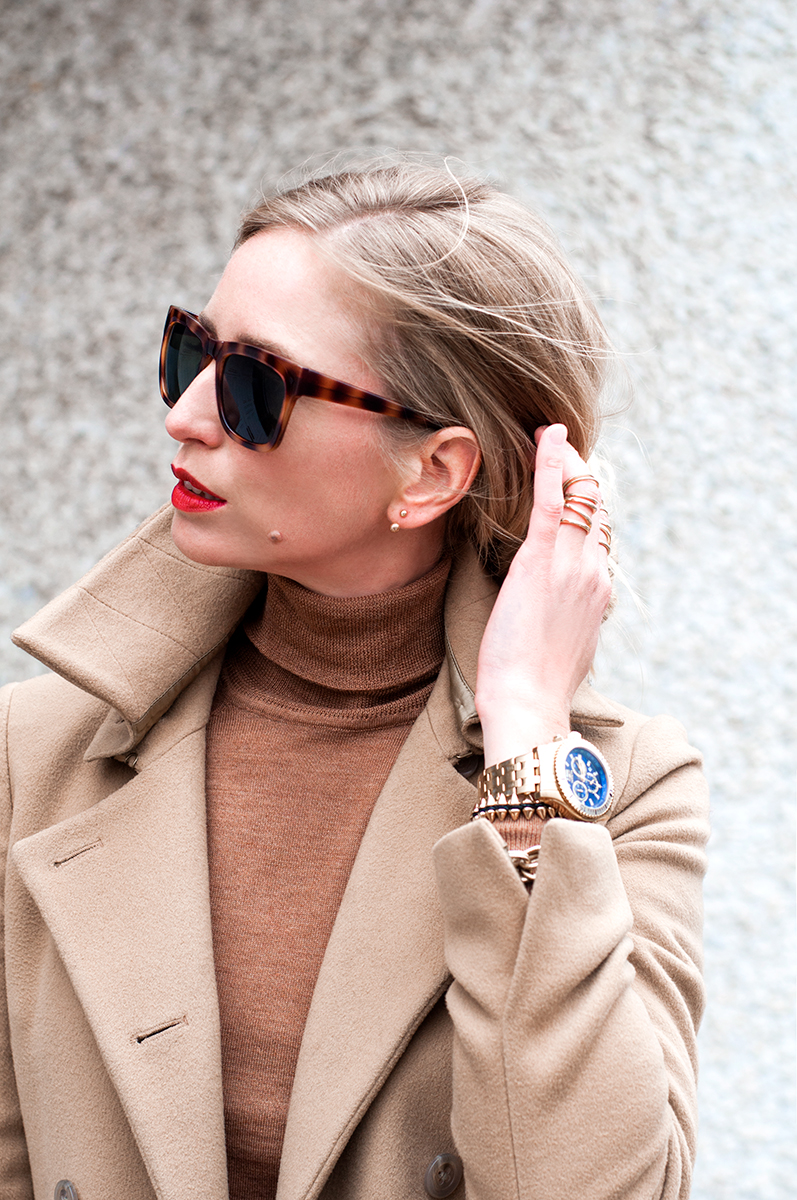 Camel and Cole Haan Sunglasses