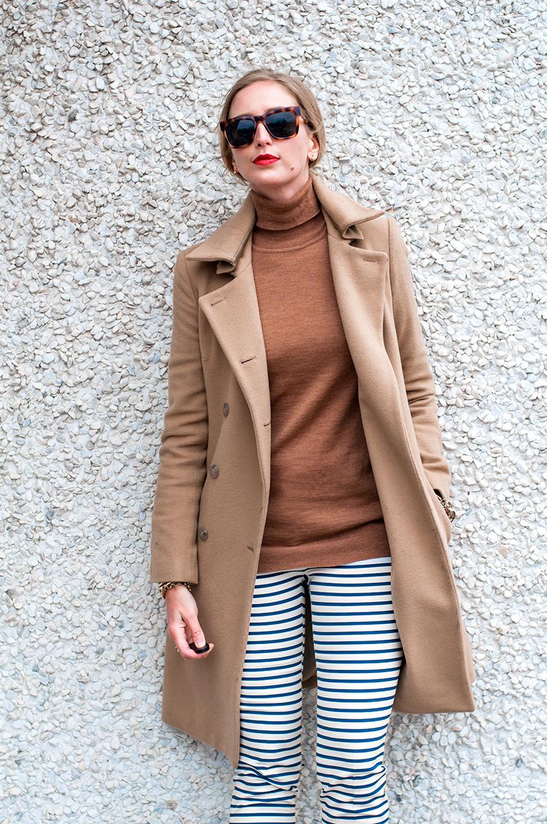 Zara Striped Skinny Pant