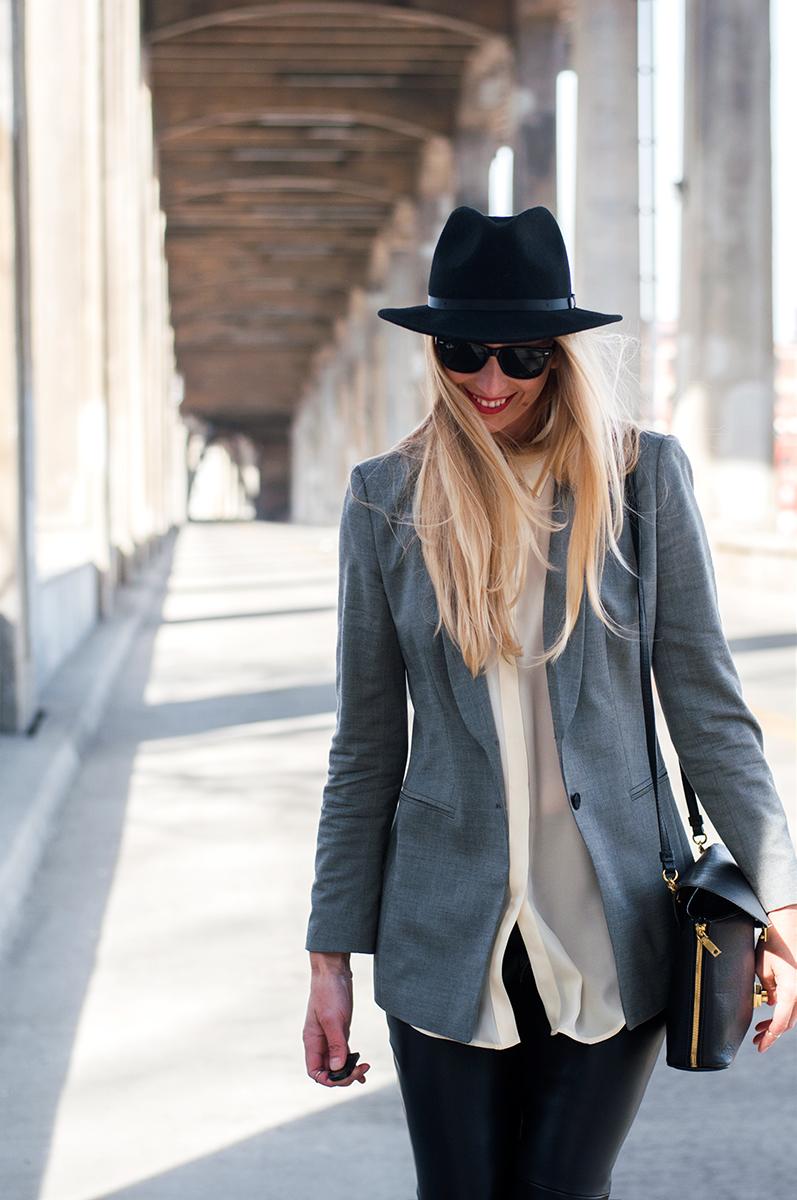 Heather Wyancko, Kansas City Based Fashion Blogger on the 12th Street Bridge