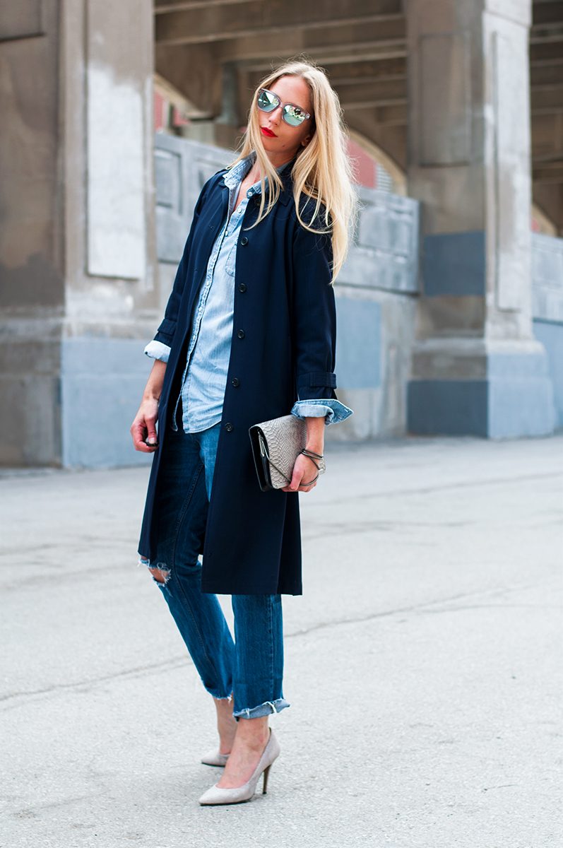 Zara Denim on Denim, Spring 2015 Blogger Style