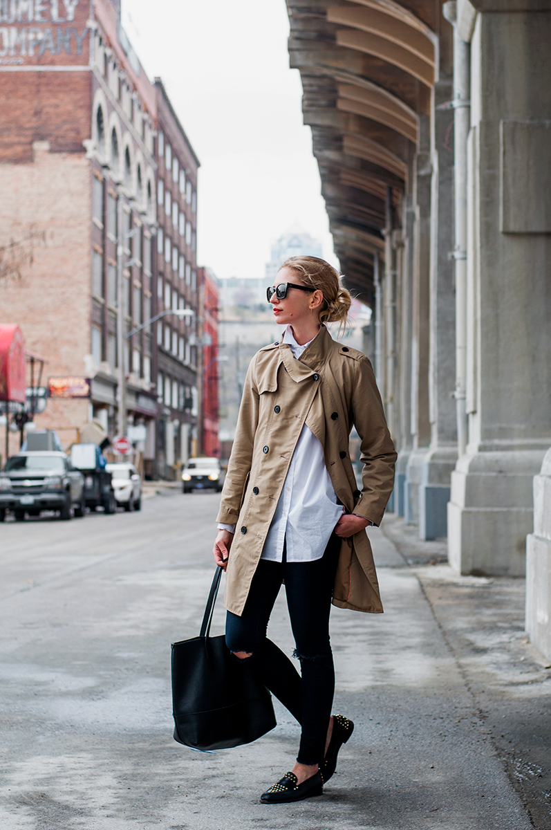 Unstructured Trench Coat, Blogger Style Spring 2015