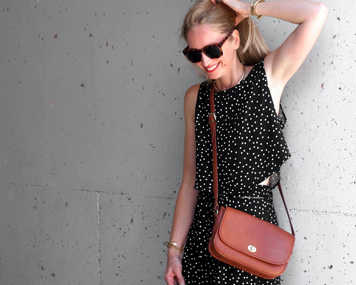 Coach Classic City Bag, Summer Blogger Style