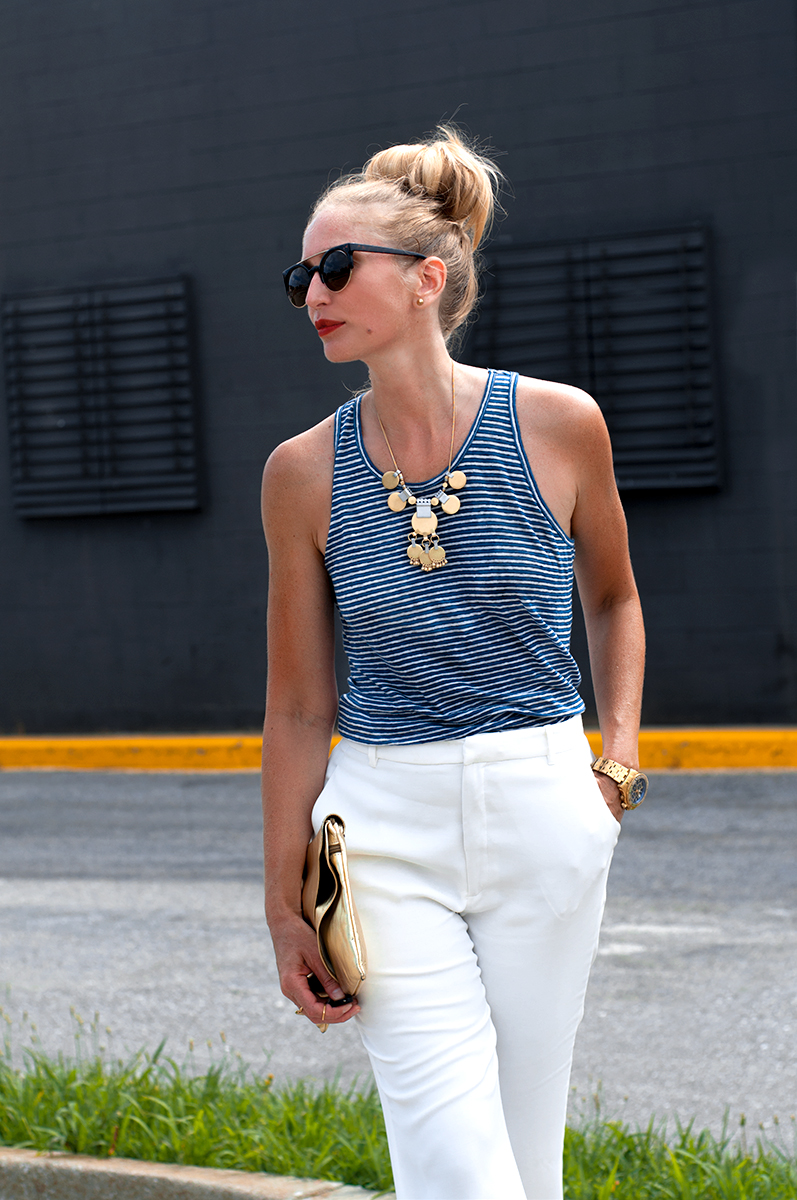 Madewell Tectonic Statement Necklace