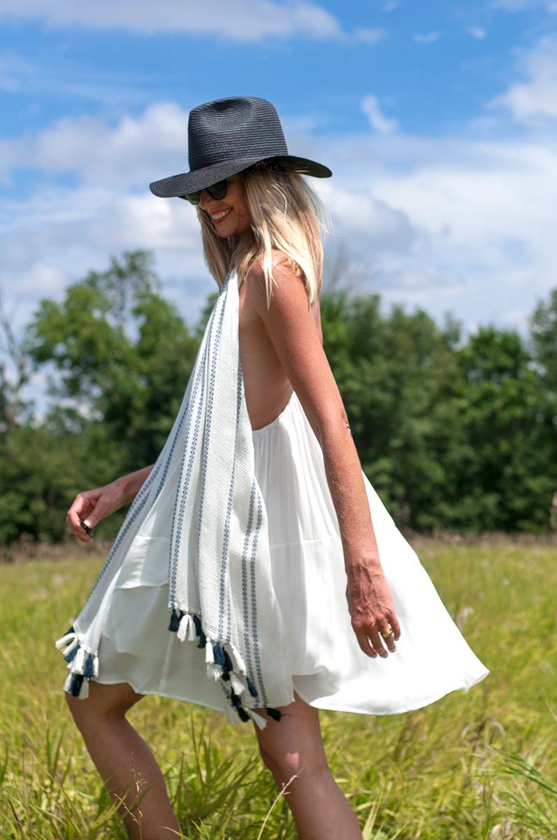 Forever 21 Chiffon Trapeze Dress