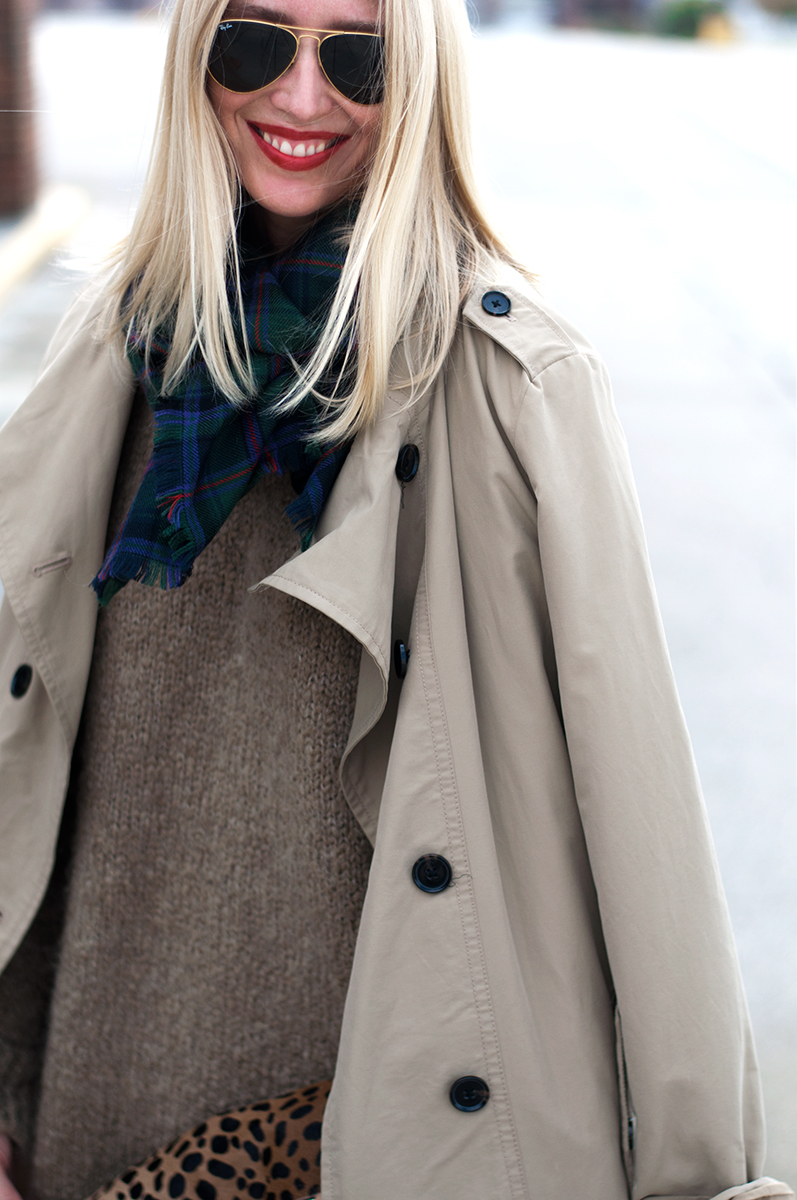 Unstructured Trench Coat, Blogger Style