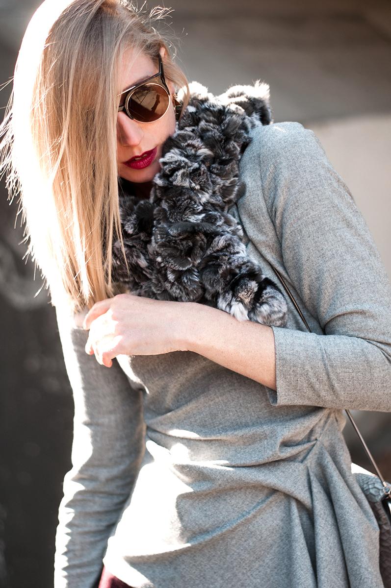 Fur Scarf, Blogger Style 2015