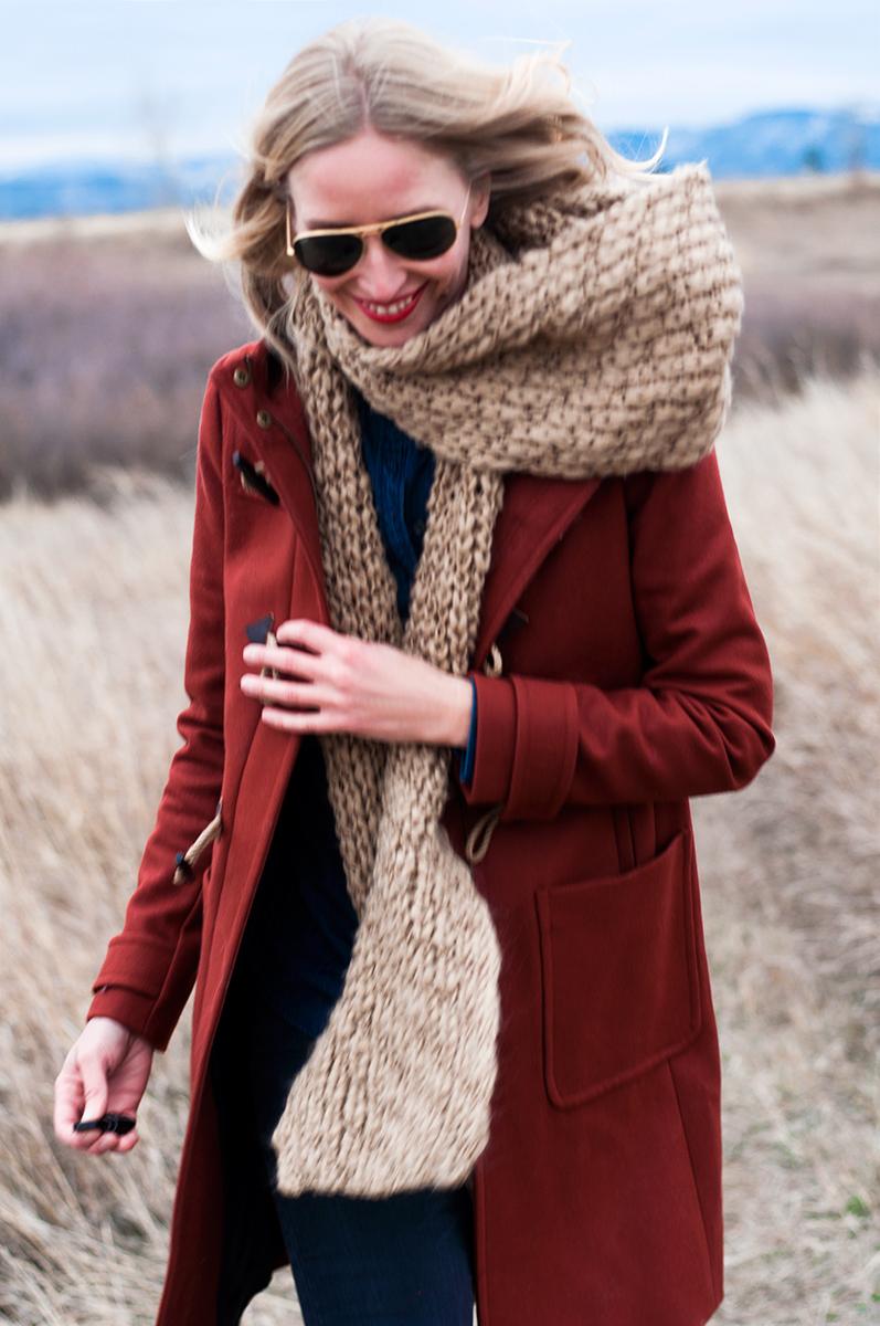 J Crew Wool Melton Toggle Coat