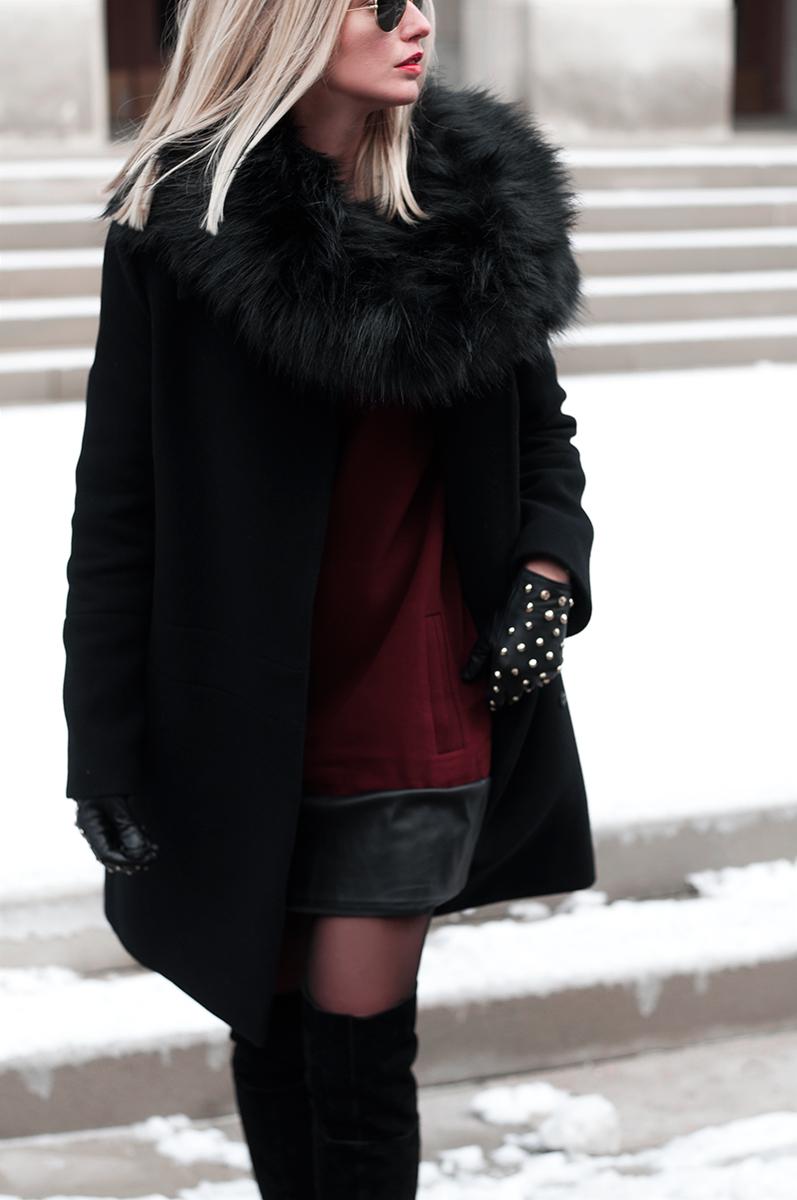 Target Faux Fur Snood