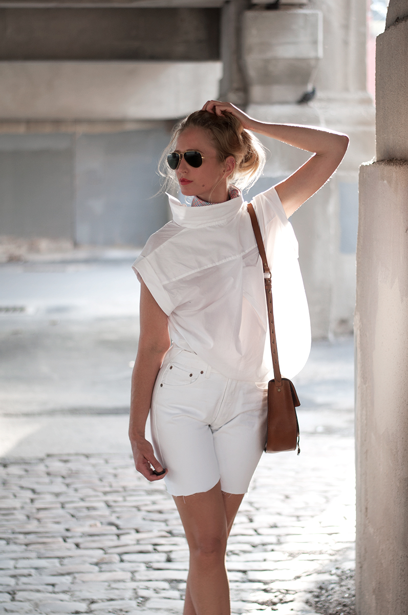 White on White Outfit Inspiration