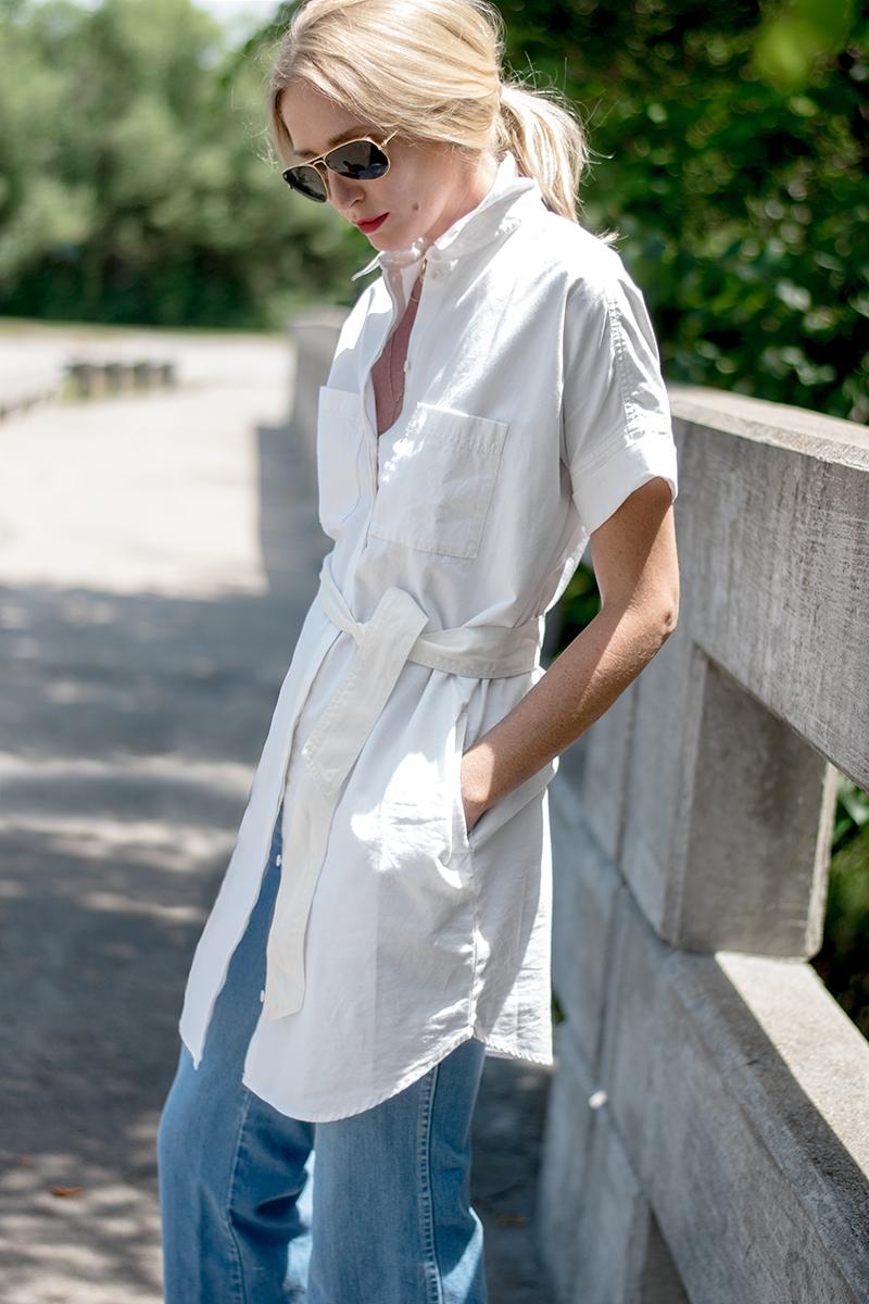 Madewell Courier Shirtdress