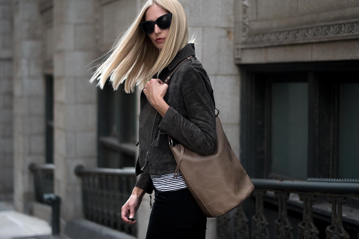 Madewell Lisbon O-Ring Bucket Bag