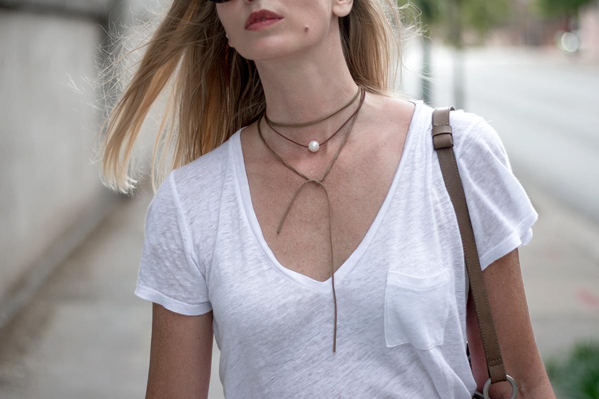 Wendy Mignot Coastal Single Freshwater Necklace