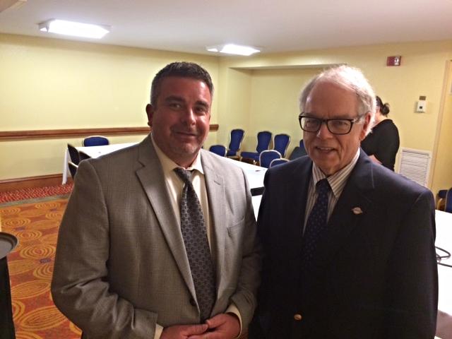 N.O.I.S.E. Secretary Frank Soto and College Park Council Member Ambrose Clay