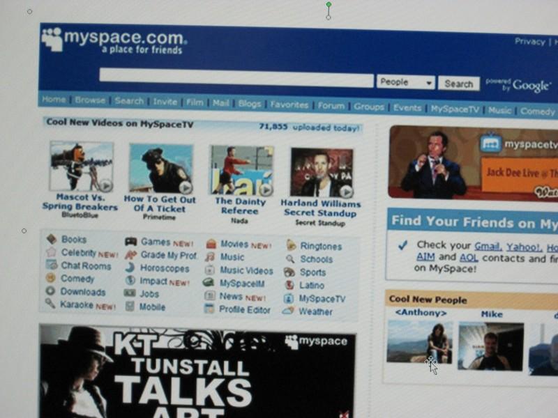 Saying No to MySpace