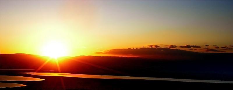 Masada's Sunset