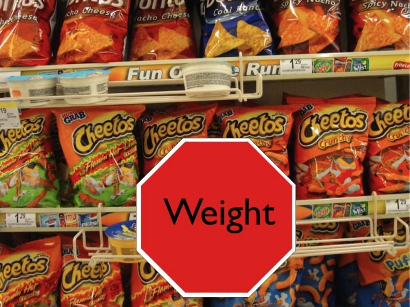 Weight! Look both ways.