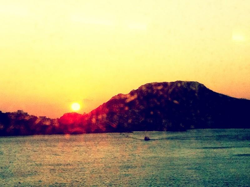 As the sun sets, a new beginning awaits