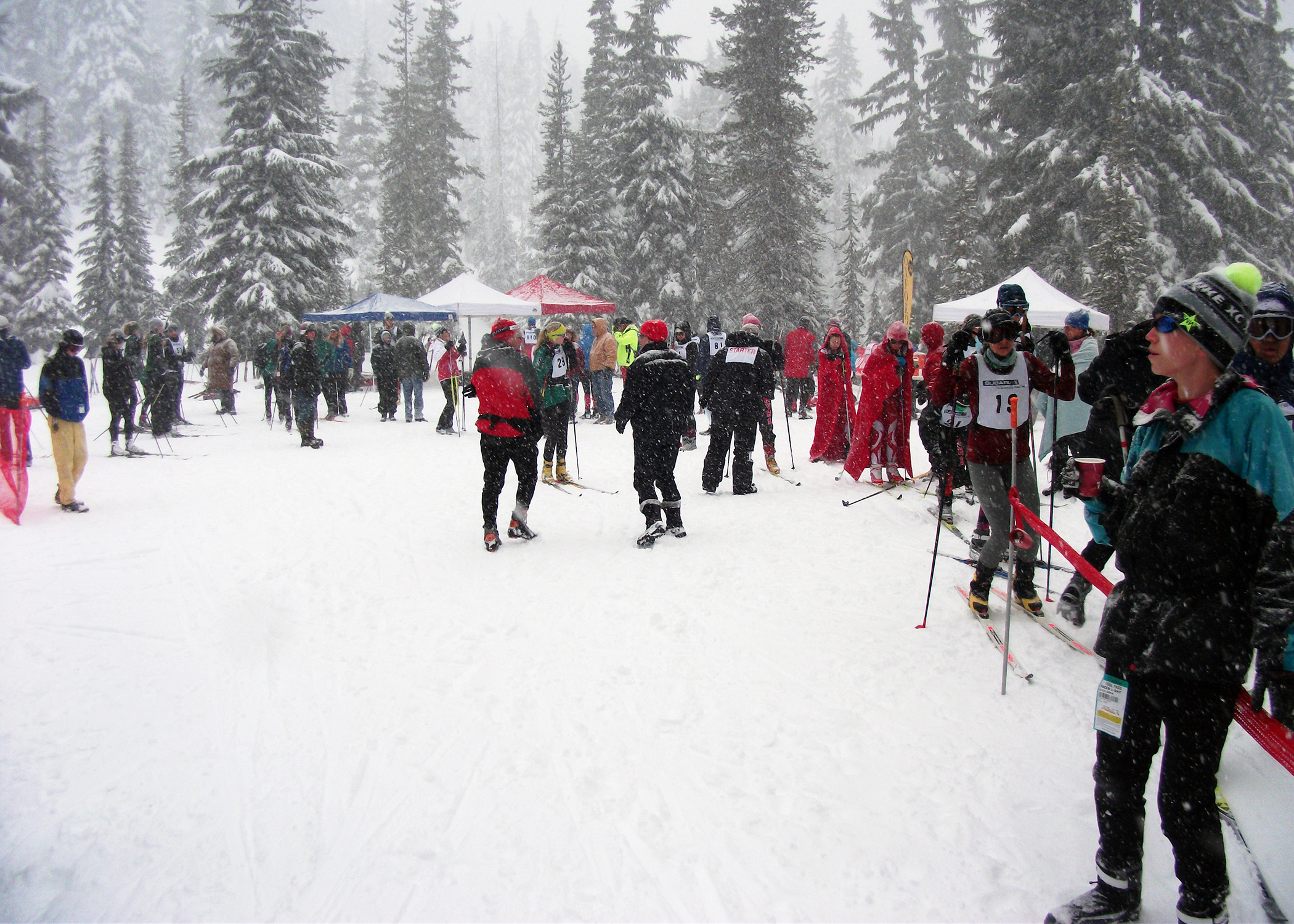 Competing Under the Snow