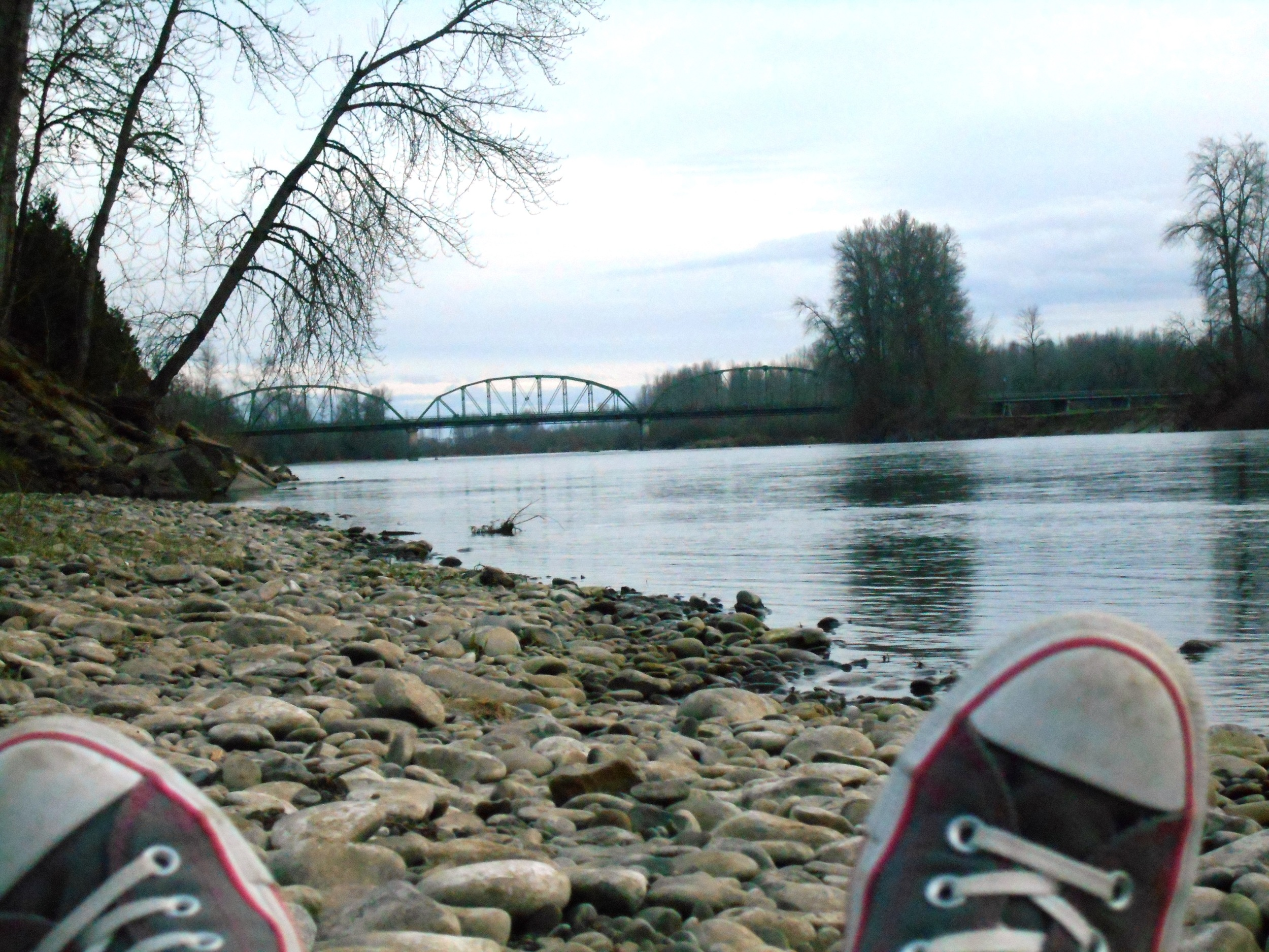 Chillin' by the River