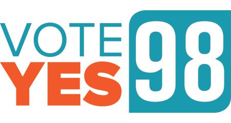 Vote Yes 98 logo