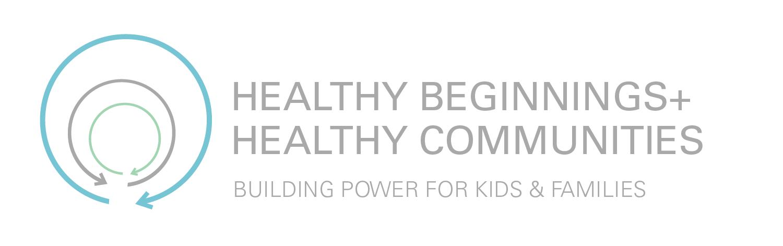 Healthy Beginnings+HEalthy Communities Logo