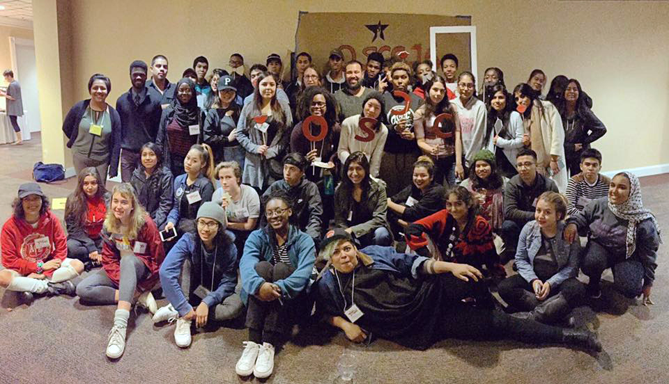 The Youth Equity Collaborative at the Oregon Students of Color Conference.