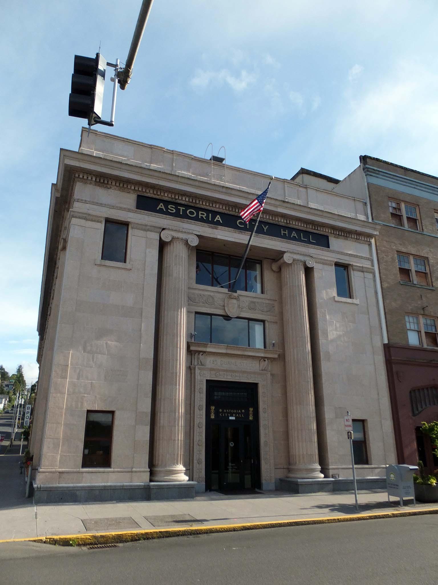 Astoria's City Hall.
