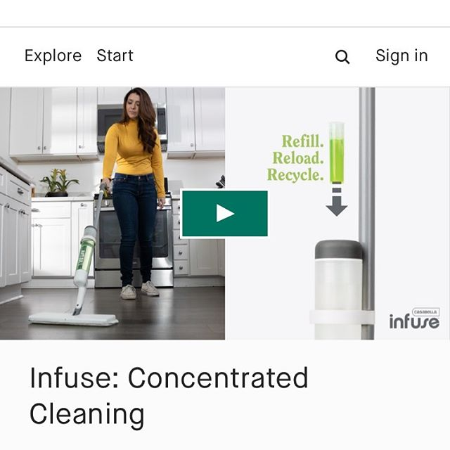 There's no time like the present!  Only 11 more days to snatch-up the new Infuse Cleaning System from @casabellaclean @kickstarter #ecoconcious #ecoconsciouscleaning #greenclean #greencleaningproducts https://tinyurl.com/yylv2fjw