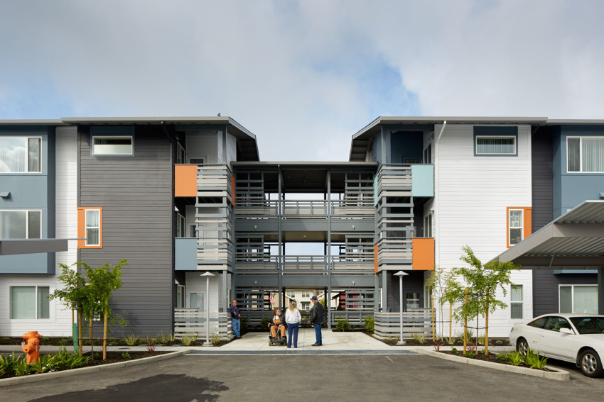 2016 AIA San Francisco Design AwardsSpecial Commendation for Social ResponsibilityHalf Moon Village Affordable Senior Housing - This award commends the project for balancing important social need along with code and budget limitations to make Half Moon Village a special place for its residents.