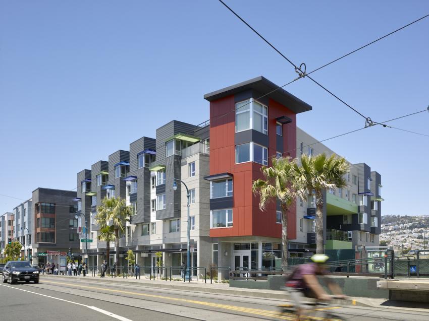 2016 Affordable Housing Finance Reader's Choice Award FinalistUrban Category1100 Ocean Avenue -