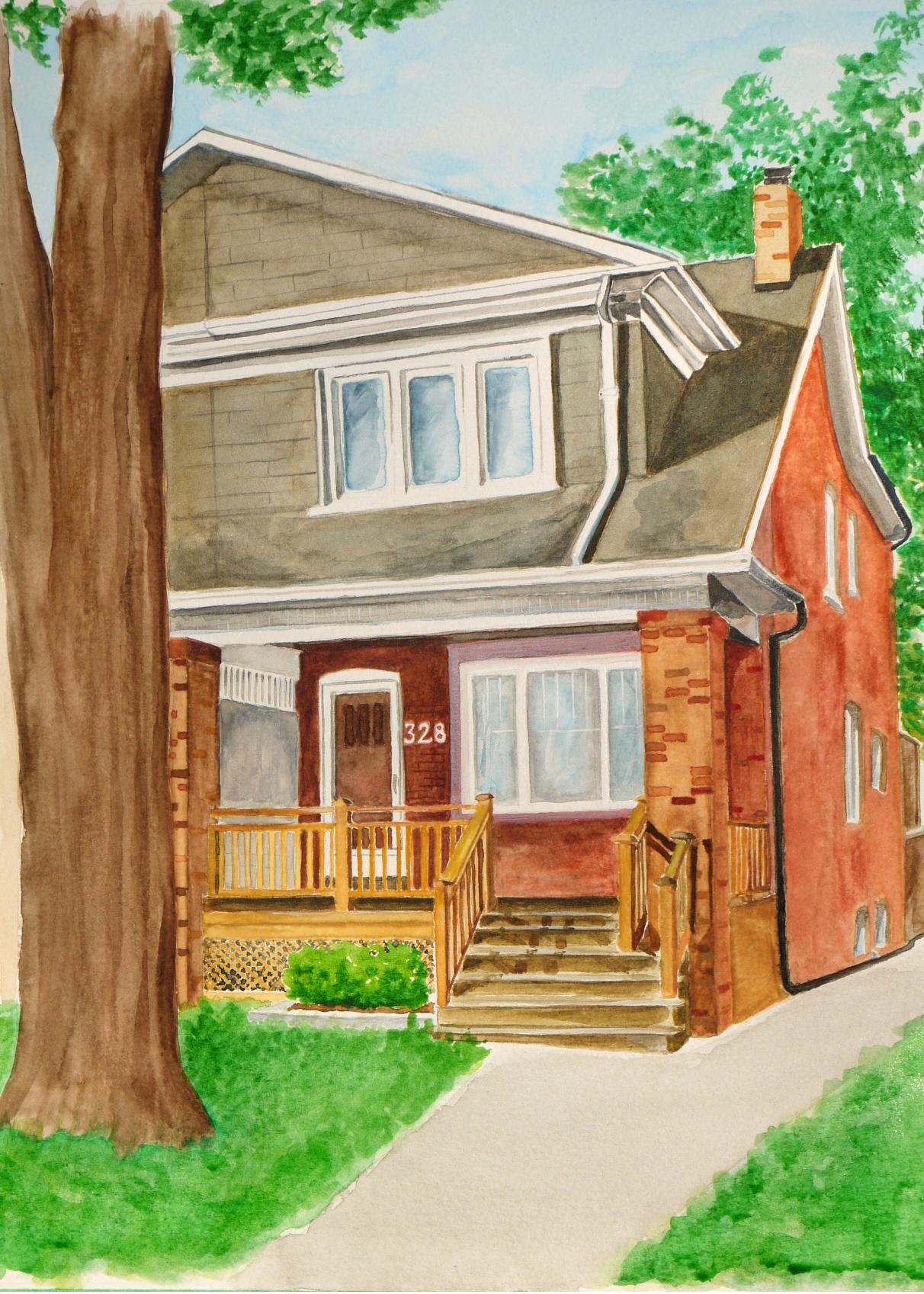 Custom House Portrait 328