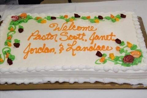 Pastor Scott Welcome 2012