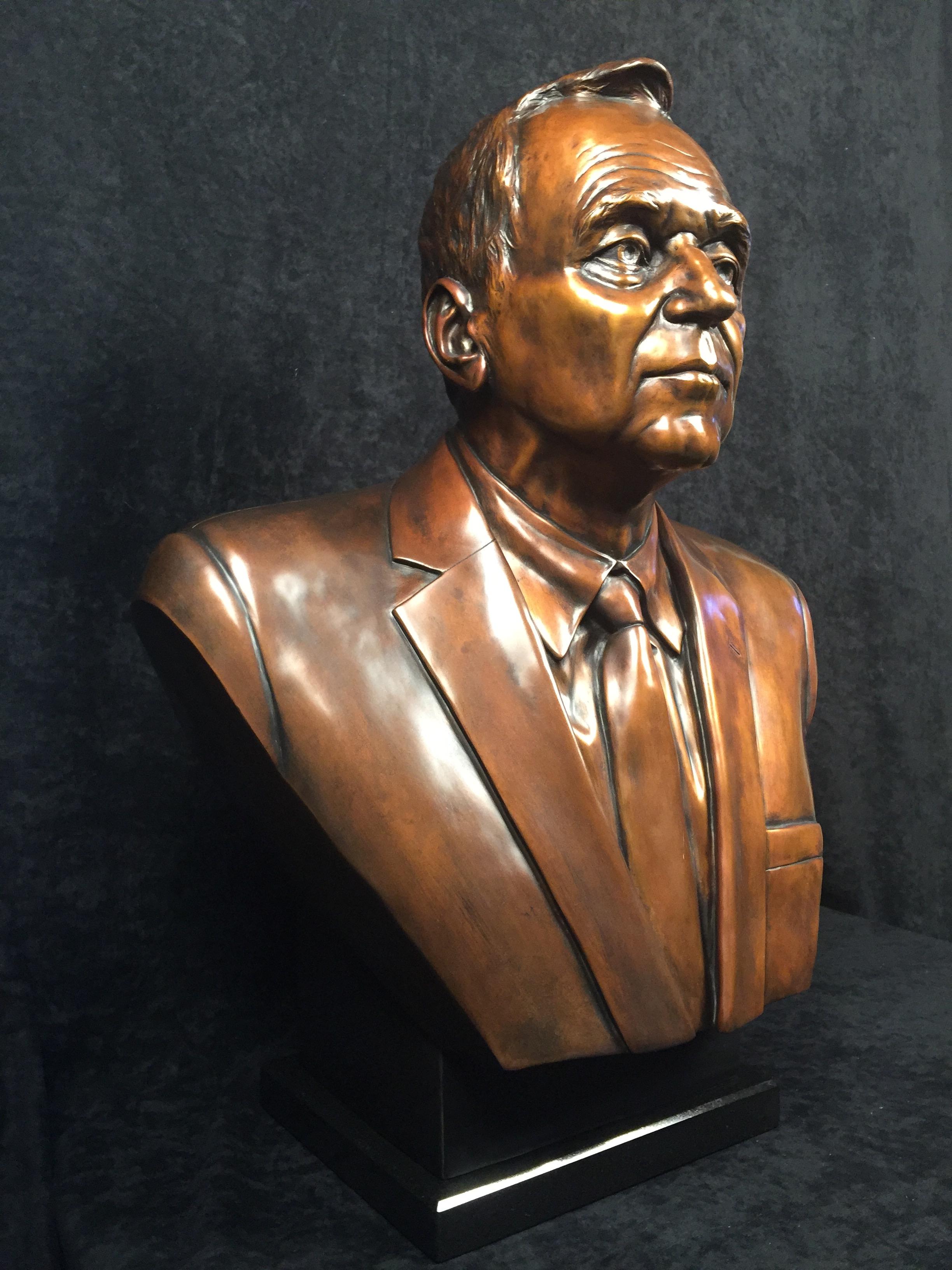 Bronze Portrait Commission, Life Size
