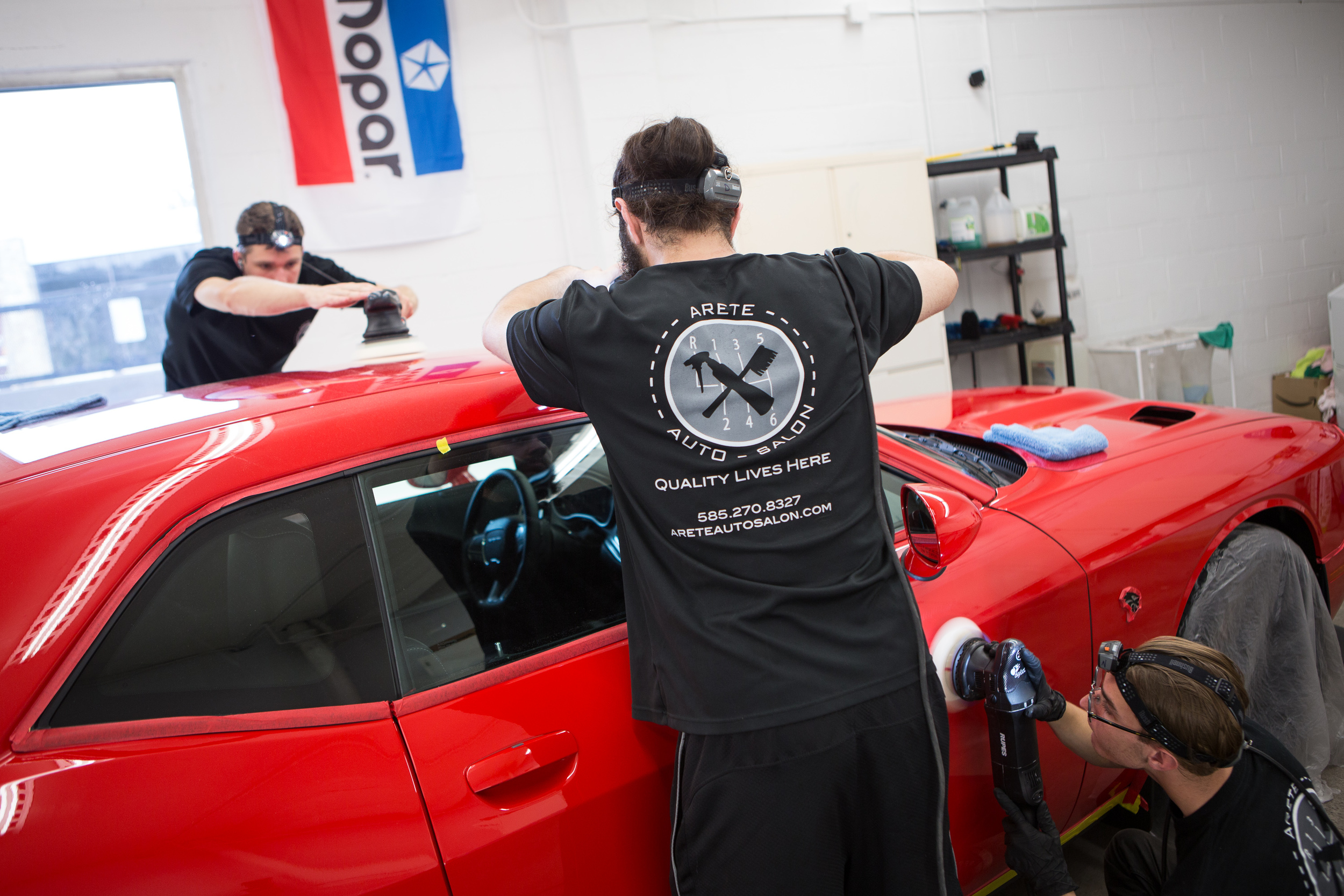 Our experienced team working together to accomplish optimal results.