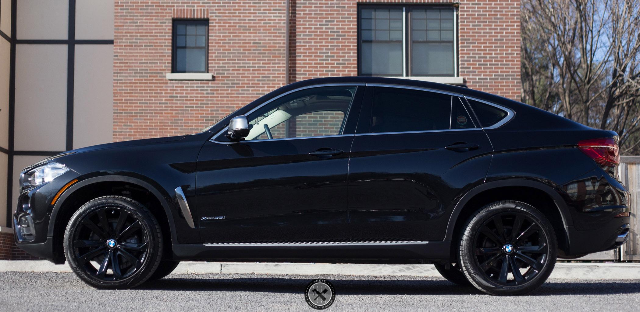 Bmw X6 Cquartz Coatings Areté Auto Salon Fine Auto Detailing In Rochester Ny