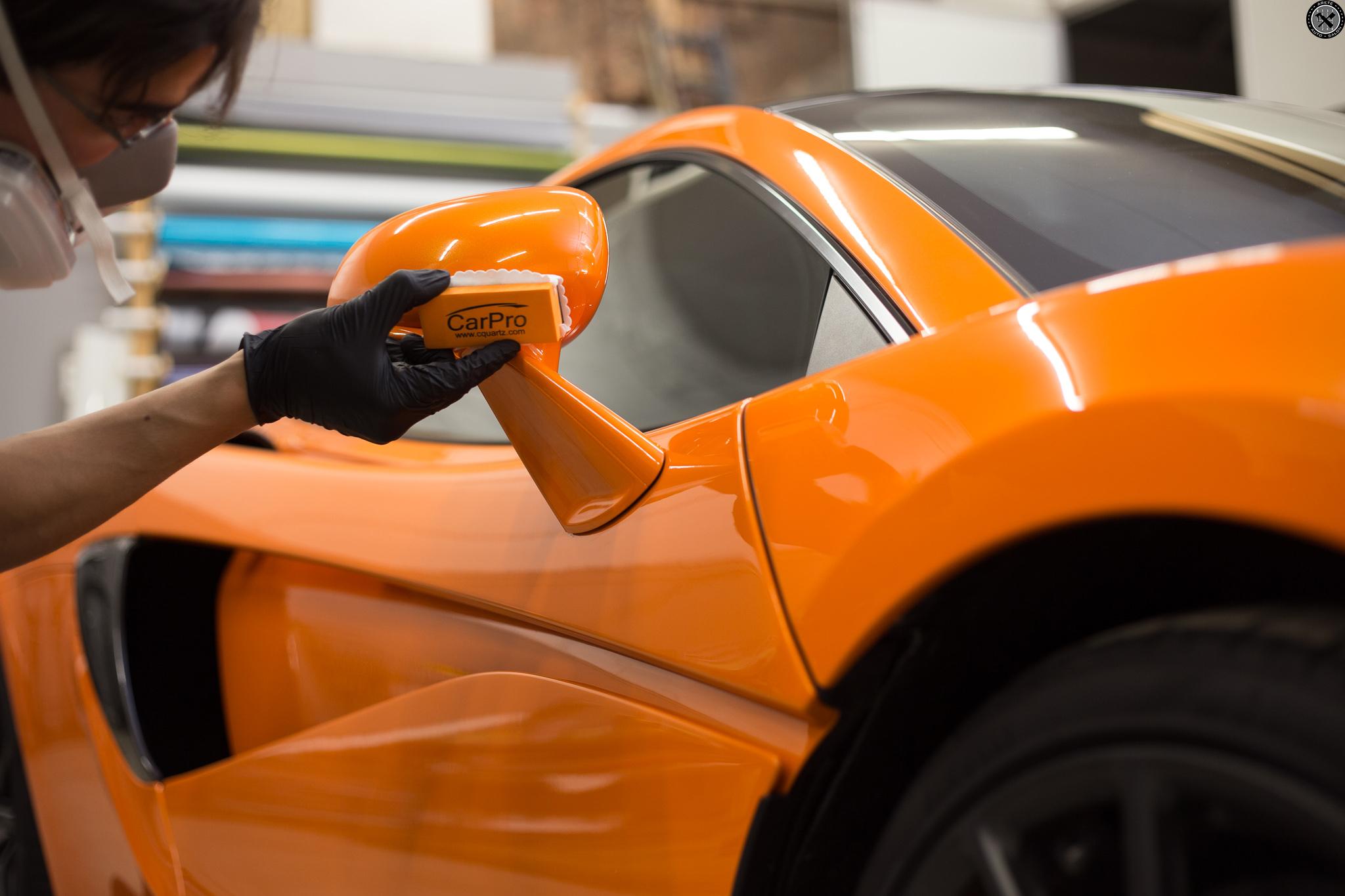 Mclaren 570gt Cquartz Professional Arete Auto Salon Fine Auto Detailing In Rochester Ny