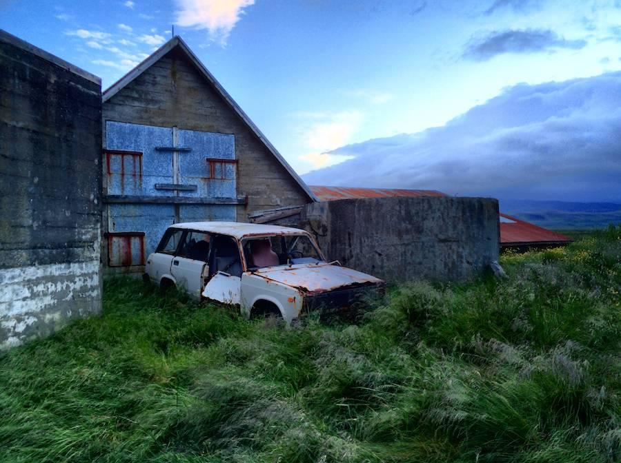 Abandoned farm near Bergamot; iPhone HDR
