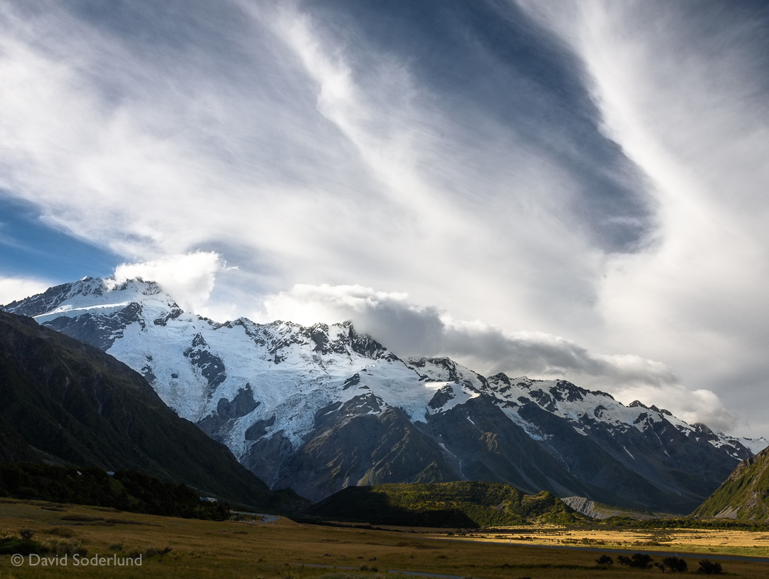 Mt. Sefton, Aoraki/Mt. Cook National Park, New Zealand
