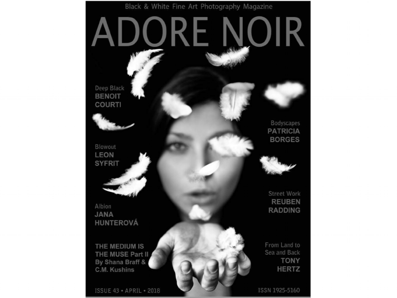 ADORE NOIR MAGAZINE - ISSUE 43 (2018)