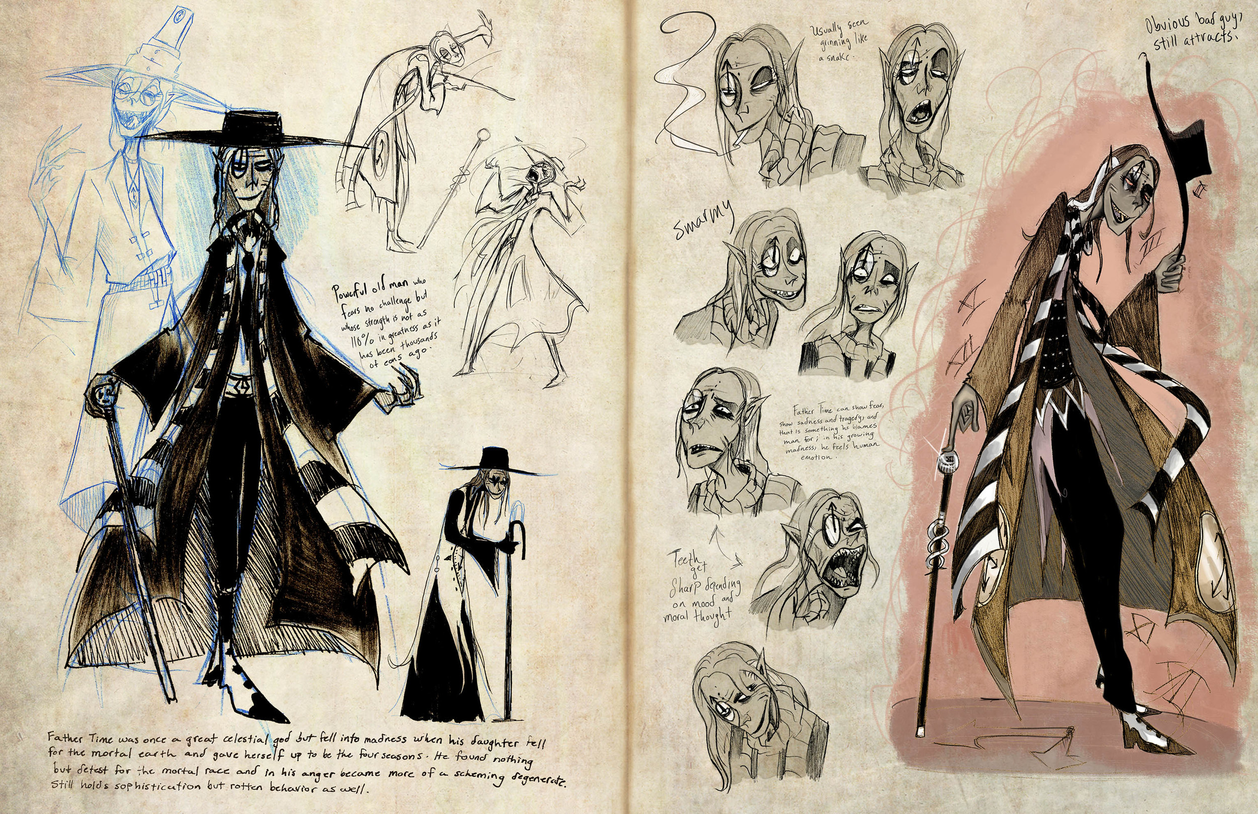 Pantheon - Father Time sketchbook page 2.jpg