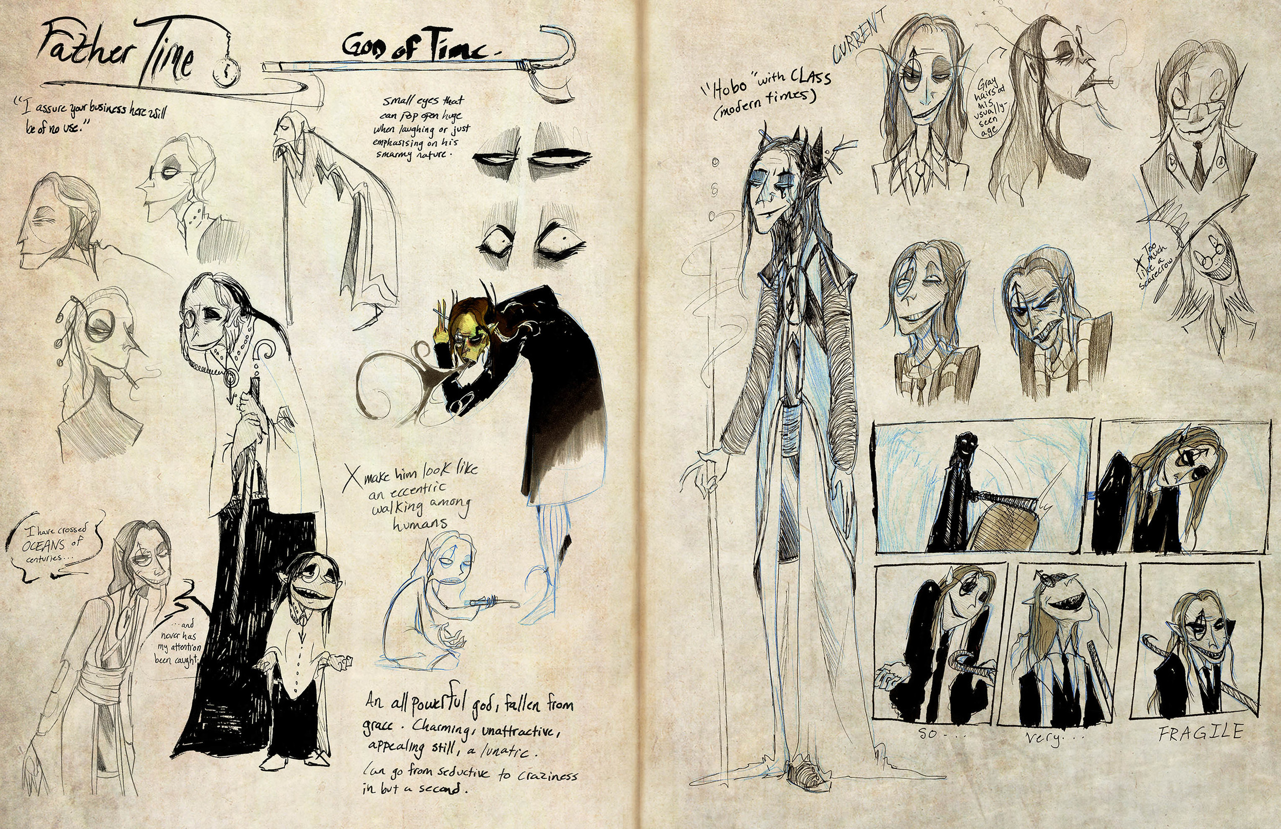 Pantheon - Father Time sketchbook page 1.jpg