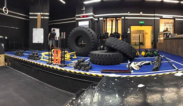 《MobilusXFitfest》 Hey @fitnessfest.sg we are bringing these toys to you!  Come by tomorrow at Marina Bay Sands Convention to try out CrossFit and MobStrong! Don't forget to snag our one time offer of $100 for 5 class pass! #crossfitmobilus #wearemobilus #mobilusxfitnessfestsg @tribalfitness_sg