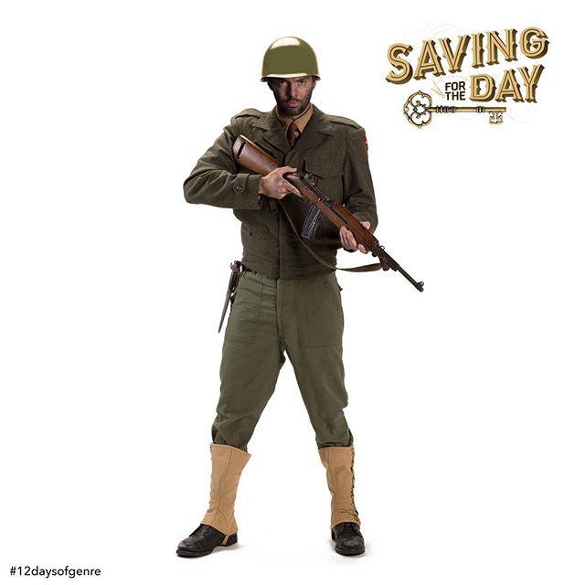 """On the eleventh day of genre, my true love gave to me...a muddy foxhole and cold MRE."" #12daysofgenre #War #WarFilm #SavingPrivateRyan #StevenSpielberg #TomHanks #ApocalypseNow #FrancisFordCoppola #FullMetalJacket #TheGreatEscape #TheDirtyDozen #TheLongestDay #IngloriousBasterds #QuentinTarantino #Patton #MASH #Jarhead #SandsofIwoJima #SeargentYork #TheBridgeOnTheRiverKwai #Platoon #WWII #M1Garand  #Movie #Film #SavingForTheDay #SFTD #Missoula #Montana #MissoulaMovie  Watch Joe go deep behind enemy lines on a secret mission (clickable link in bio): MissoulaMovie.com . 📷: @athenaphotography"