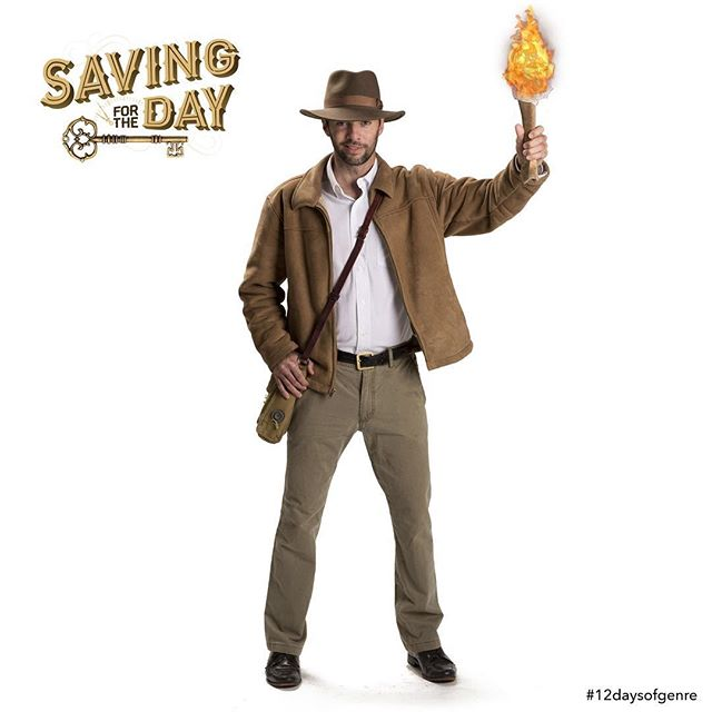 """On the seventh day of genre, my true love gave to me...a man purse and a quest to find a key."" #12daysofgenre #Adventure #IndianaJones #Indy #HarrisonFord #KarenAllen #JohnRhysDavies #DenholmElliot #SeanConnery #KateCapshaw #StevenSpielberg #GeorgeLucas #RaidersOftheLostArk #Fedora #Whip #Satchel #ManPurse #BoobyTraps #Goonies #JosephCampbell #HerosJourney  #IndependentFilm #Cinema #Movies #Film #SavingForTheDay #SFTD #Missoula #Montana #MissoulaMovie  Watch Joe battle his way through a gauntlet of booby traps (clickable link in bio): MissoulaMovie.com . 📷: @athenaphotography"