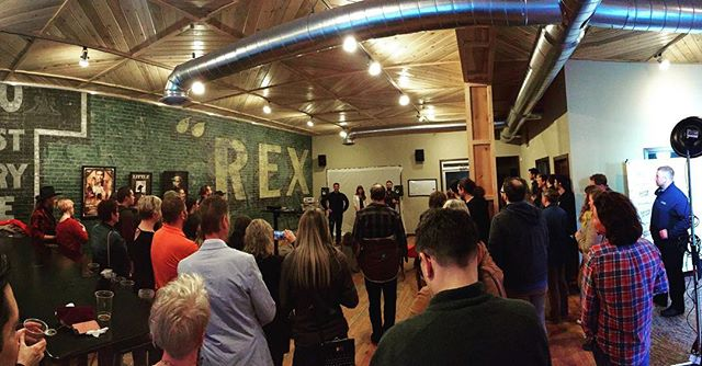 We had a fantastic turnout at the sneak Peek on Friday! Thanks to everyone that stopped by. Special thanks to everyone who helped set up. And a huge thanks to @gecko.designs for hosting! #SFTD #MissoulaMovie . . . #ShootMontana #Missoula #MontanaFilm #Montana