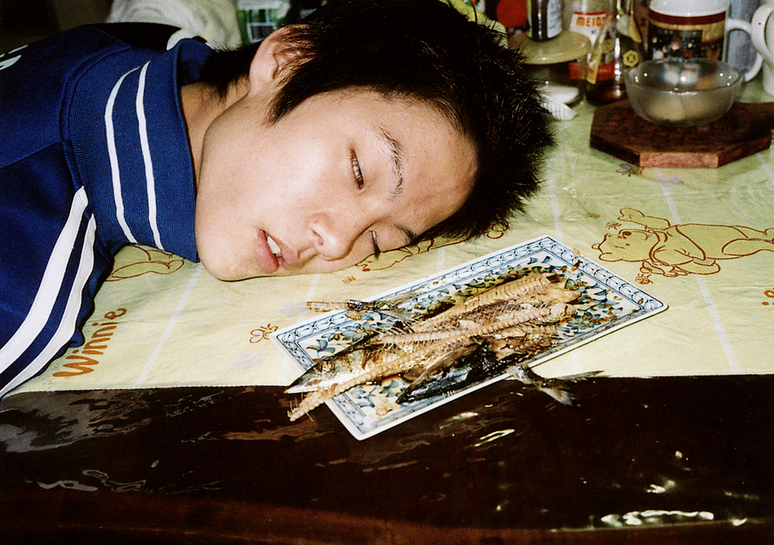 Motoyuki Daifu   Broiled Fish In The Table , 2010 c-print 20 x 24 inches 50.8 x 61 cm
