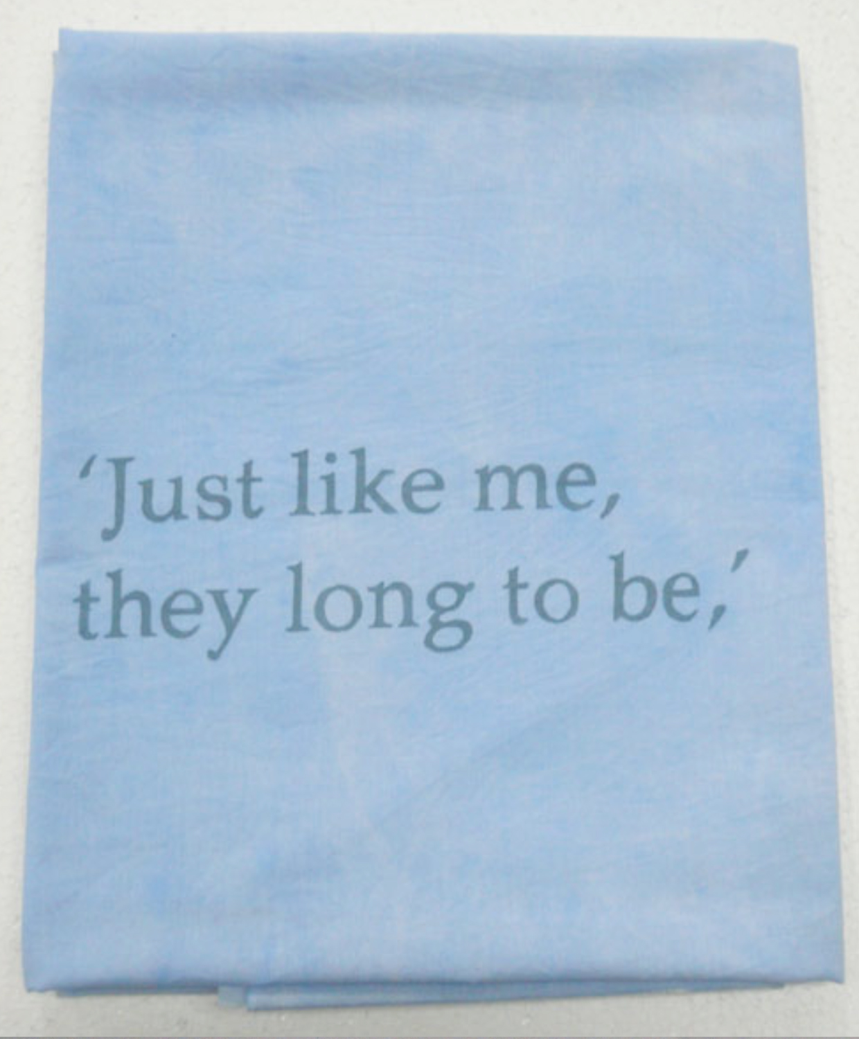 Lee Kit   Just Like Me, They Long To Be , 2011 acrylic on fabric 44 x 40.5 inches 111.8 x 102.9 cm