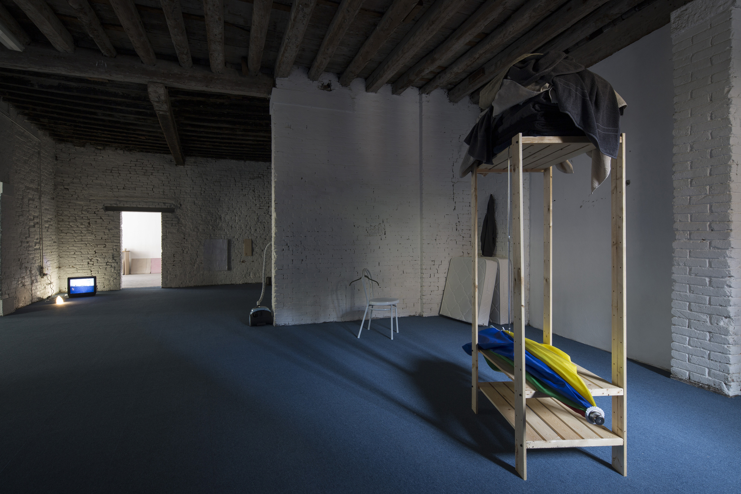 Lee Kit  ' You (you).' , 2013 Installation view at the 55th Venice Biennale Photo: David Levine ourtesy the artist, M+, WKCDA, HKADC, and Lombard Freid Gallery