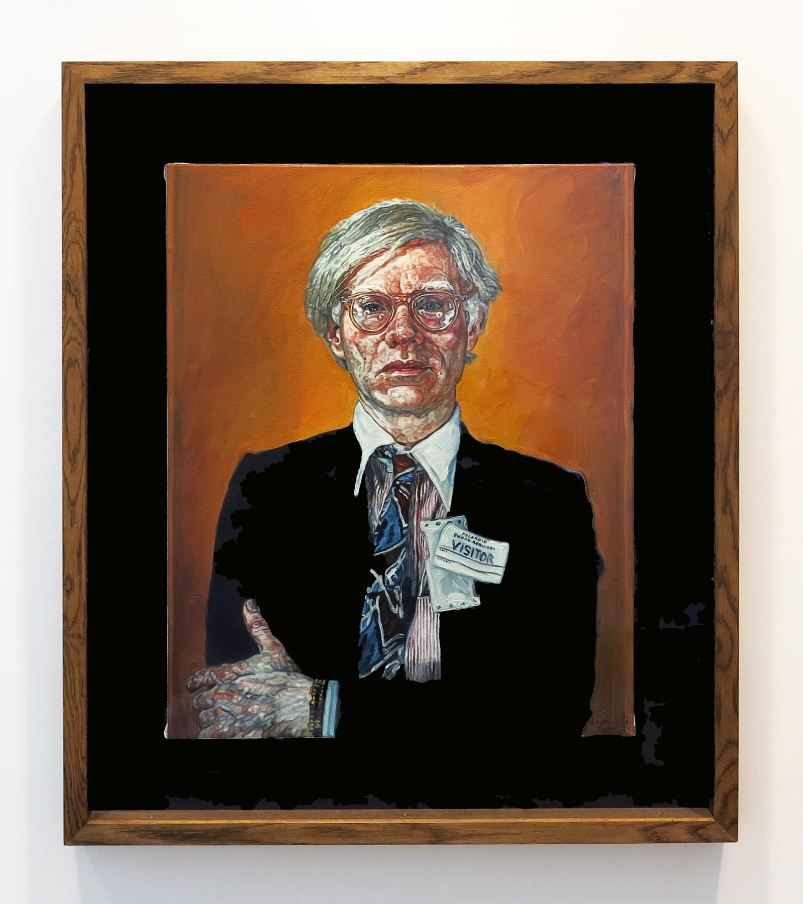 Ulrich Lamsfuss   Untitled (Andy 2) , 2002 Oil on canvas 30 x 24 inches 75 x 60 cm