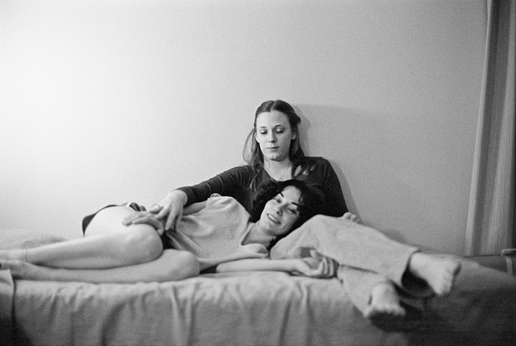 Lucien Samaha   Lisa and Marianne (The Flight Attendant Years) , 1978, printed 2013 archival pigment print 21 x 29.75 inches 53.3 x 75.6 cm